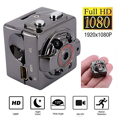 Greetuny Action Camera Camcorder videocámara con detección de Movimiento Spy Oculta Spy...