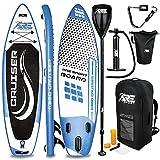 RE:SPORT Tabla Sup Hinchable 305/320/366/380cm | Tabla Paddle Surf | Stand-Up Board | Accesorios Completos + Bomba + Remo Ajustable | para Principiantes y Expertos