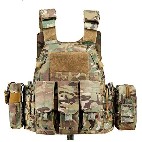 CAMO Tactical Outdoor Vest (Khaki)