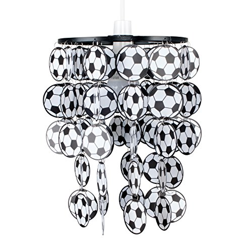 MiniSun - Paralume moderno per lampada a sospensione con lo stile calcio per la camera dei ragazzi o del bebè