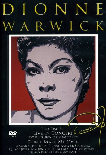Dionne Warwick - Live In Concert / Don't Make Me Over (2 Dvd)