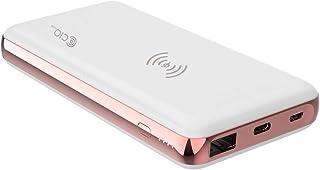 MB-18W-QIQCPD モバイルバッテリー iPhone USB PD Galaxy QC3.0 Qi ワイヤレス充電 10W 7.5W 急速充電 大容量10000mAh 軽量 タイプC USB-C Type-C Android Xperi...