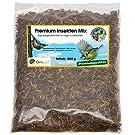 Ornigold Premium Insekten Mix 500g getrocknet Delikates Protein Futter für Wildvögel, Koi, Schildkröten, Reptilien, Hamster, Nager