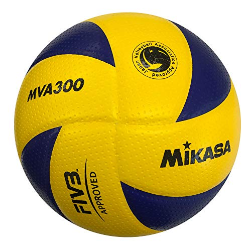 MIKASA Hallenvolleyball MVA 300, mehrfarbig, Gr. 5