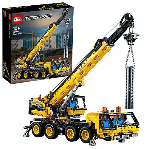 LEGO42108TechnicGrúaMóvilJuguetedeConstrucciónparaNiñosy