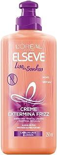 Creme Para Pentear Elseve Liso dos Sonhos, 250Ml, L'Oréal Paris