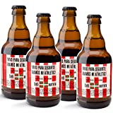 CEREX pack de 20 cervezas artesanales FUTBOL ATHLETIC BILBAO cerveza especial trigo doble fermentacion cerveza alemana regalo