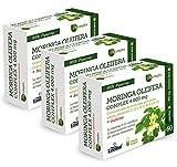 Moringa (Complex) 4000 mg | (Ext. Seco) - Con extracto seco de moringa, Zinc, Vitamina C, extracto seco de pimienta negra, Cromo, Biotina y Vitaminas del grupo B - 60 Cápsulas vegetales (3 Unidades)