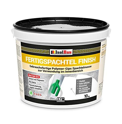 Spachtel masse Q4 Fertigspachtel Finish 10 kg Glätt Flächen Füll Fugenspachte