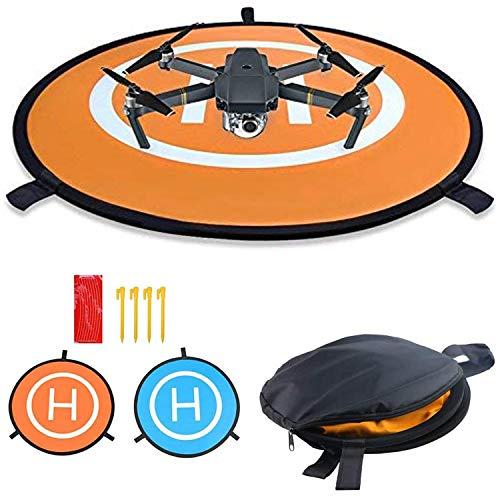 Drohne Landeplatz, Landing Pad, Universal Waterproof D 75 cm Tragbare Faltbare Landing Pads, für RC Drones Hubschrauber, PVB-Drohnen, DJI Mavic Pro Phantom 2/3/4 / Pro, Antel Robotic, 3DR Solo (75CM)