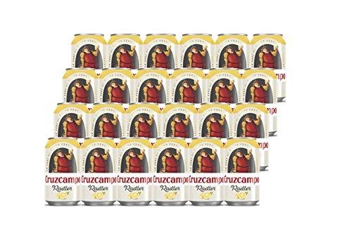 Radler Cruzcampo Bier 24x33cl (Pack 24 Dosen)