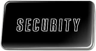 GRAPHICS & MORE Security Metal Rectangle Lapel Hat Pin Tie Tack Pinback