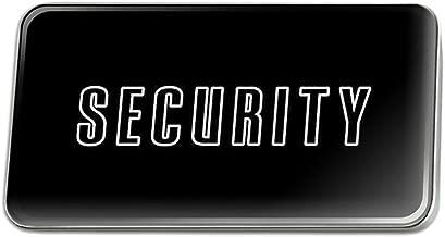 security lapel pin