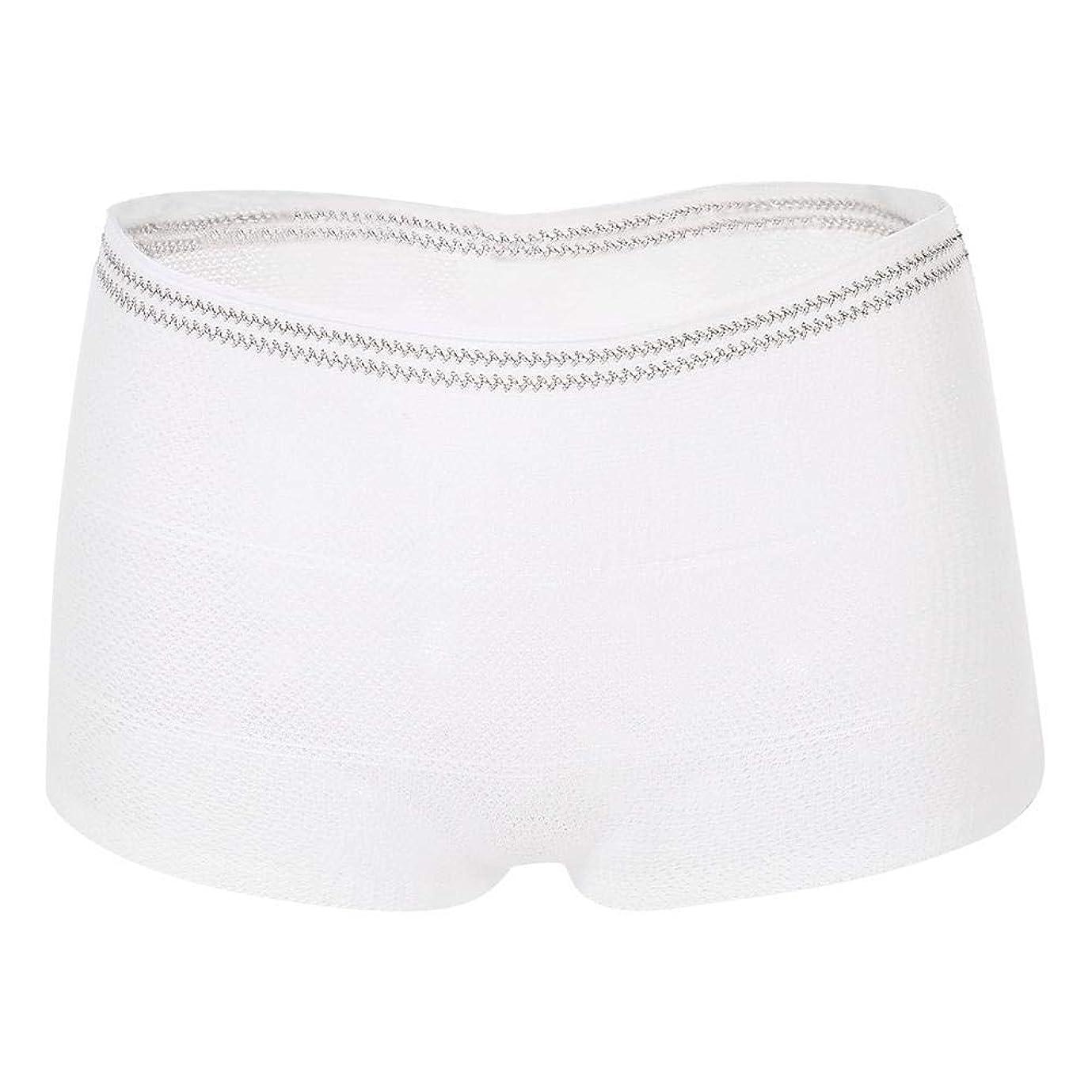 滑るビザ囲まれた失禁補助下着、10個/セット再利用可能な洗える失禁補助下着メッシュパンツ(#1)