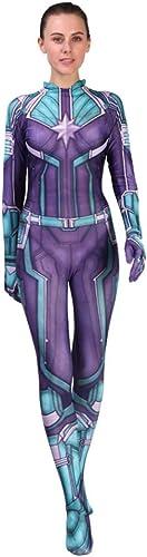 Hope überraschungskapit Anime Kostüm Avengers 4 Cosplay Onesie Fancy Dress Damen Damen mädchen Rollenspiel Verbundene Strumpfhosen,A-XL