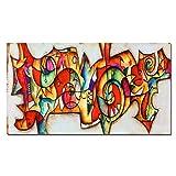 FGVB Eric Waugh, Carteles de Colores con símbolo Abstracto,Impresiones, imágenes artísticas de Pared para la decoración de la Sala de Estar, 50x100cm sin Marco