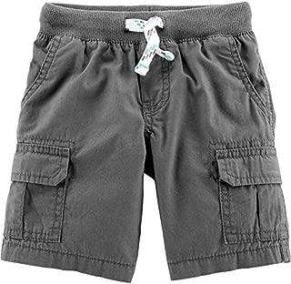 Carter's Baby Boys Pull-On Ribbed-Waist Cargo Shorts