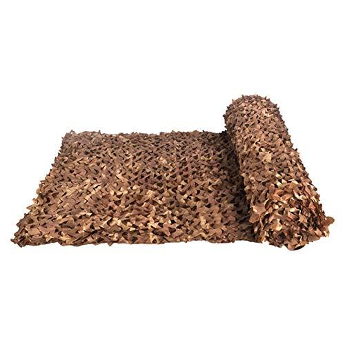 Bricolage Camouflage Net Camo Netting,Caza Camping Bosque Coche Camping Tela Oxford 210D,para Militar,Caza,Tiro,Acampada,Cubierta de Camuflaje óptico(Size:1.5x3M=5X9.8FT,Color:Desierto)