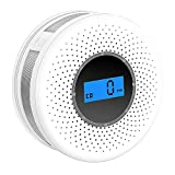 Best Smoke Detectors - Combination Smoke and Carbon Monoxide Detector with Display,Battery Review