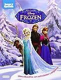 Frozen: Libro educativo con actividades y pegatinas (Juego y aprendo)