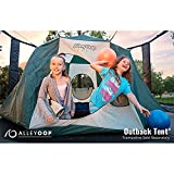 AlleyOOP Outback Trampoline Tent Accessory | No-Pole Safety Design|...