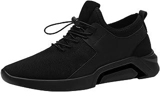 Briskorry, scarpe da ginnastica da uomo, casual, comode, traspiranti, con lacci, scarpe sportive, scarpe da corsa, trekkin...