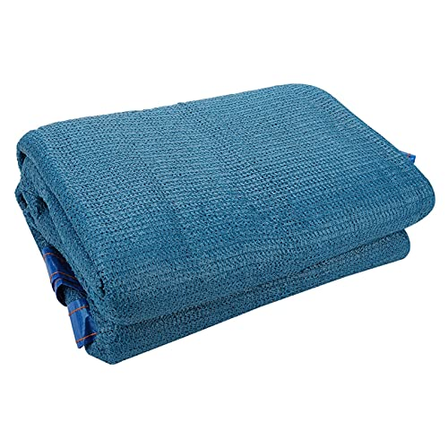 WEARRR 2x2m 2x5m 2x6m 3x5m SUNTSHADE Suntan Net Poder Anti-UV Net Tarp Tarp Garden Techo Balcón Patio Sombreado Calor Aislamiento Nets (Color : Blue, Size : 2x6m)