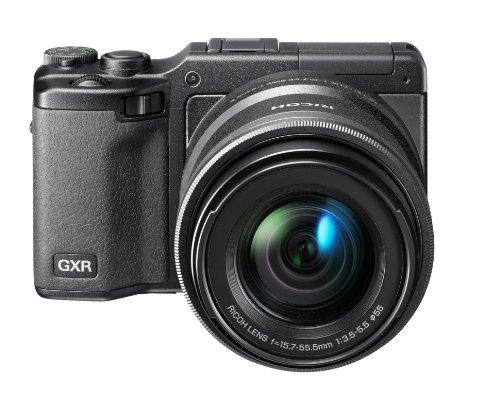 Ricoh Digitale Systemkamera (16 Megapixels, 3-fach opt. Zoom, 7,62 cm (3 Zoll) Display) GXR mit Objektiv 3,5-5,5/24-85 mm)