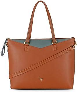 Baggit Women's Handbag (Tan) (Unitsnits 1)