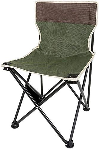 XBZDY Chaise Pliante en Plein Air, Chaise De Camping Pique-Nique portable, Chaise De Plage, Croquis De Pêche Ultra-légère, 36 × 36 × 60cm