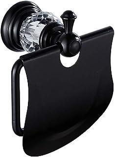 Toiletrolhouder Staand Papieren handdoekhouder Stevig, met één hand te scheuren, geschikt voor standaard normale rollen - ...