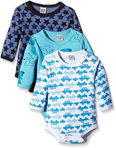 Care Body Bebé-Niños pack de 3, Azul (Dark Navy 778), 62 cm