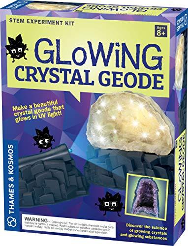 Geek & Co. Science! Glowing Crystal Geode