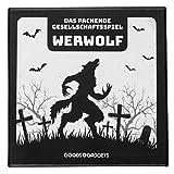 Original Werwolf Kartenspiel Deluxe Partyspiel mit Erweiterung - Werwölfe Rollenspiel Klassiker - 45 Karten Edition mit 30 verschiedenen Charakteren! DEUTSCHE Version
