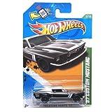 67 Custom Mustang '12 Hot Wheels Chasse au trésor 57/247 (Noir)