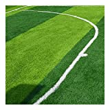 Césped Artificial, for Piscinas Patio Campo De Fútbol Césped Artificial Altura del Césped 1CM Tamaño 2 * 2.5m (Color : Emerald Green)