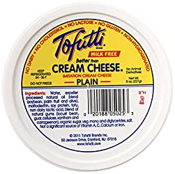 Tofutti, Better Than Cream Cheese, Non-Hydrogenated, 8 oz