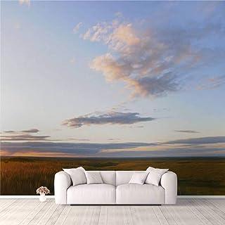 Modern 3D PVC Design Removable Wallpaper for Bedroom Living Room Grasslands Wallpaper Stick and Peel Wall Stickers Home De...