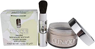 Blended Face Powder and Brush - # 08 Transparency Neutral (MF)- All Skin Types