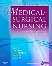 Medical-Surgical Nursing: Assessment and Management of Clinical Problems, Single Volume, 8e (MEDICAL SURGICAL NURSING (LEWIS)) Hardcover By Lewis, Sharon L.; Dirksen, Shannon Ruff; Heitkemper, Margare