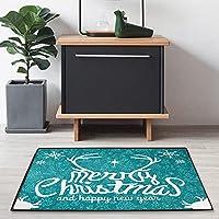クリスマス抗疲労キッチンフロアマット、,滑り止め吸収性快適スタンディングマット、ソフトランナーラグ、廊下、玄関、バスルーム、リビングルーム、寝室用ハロウィンフロアマット-A_50X80CM