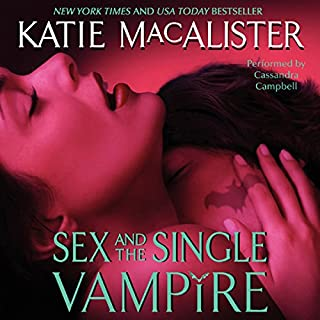 Sex and the Single Vampire audiobook cover art