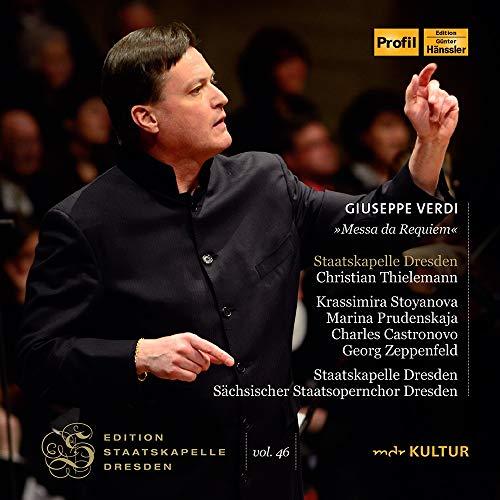 Edition Staatskapelle Dresden Vol.46 : Christian Thielemann / Verdi : Requiem