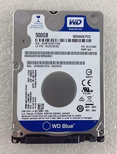Lenovo Ideapad 110 15IBR 80T7 HDD Hard Disk Drive 500gb 500 GB SATA WD5000LPCX
