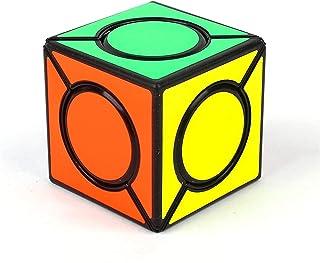 AI-YUN 2x2 Six Spot Skewb Speed Cube 2x2x2 Magic Cube Puzzle Toys Brain Teasers Black