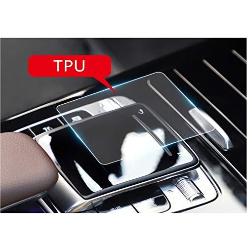 LFOTPP Schutzfolie für Mercedes Benz A B Klasse W177 W247 Center Console Control Maus (2 Stück)