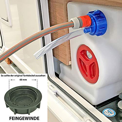 WAFA 5F Wasserfülladapter für Wohnmobile, FEINGWINDE, Knaus, Weinsberg, u.a.