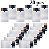 JUSTDOLIFE RFID Blocking Sleeve Anti Theft Credit Card Sleeve Credit Card Protector 20PCS