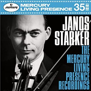 J?nos Starker - The Mercury Recordings [10 CD] by Decca