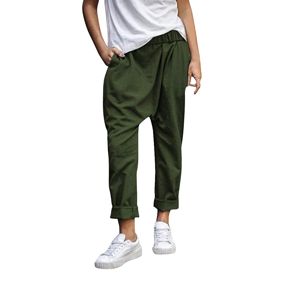 ??ONLY TOP?? Fashion Men's Sports Plaid Casual Loose Sweatpants Drawstring Cargo Pant Workout Slim fit Trousers